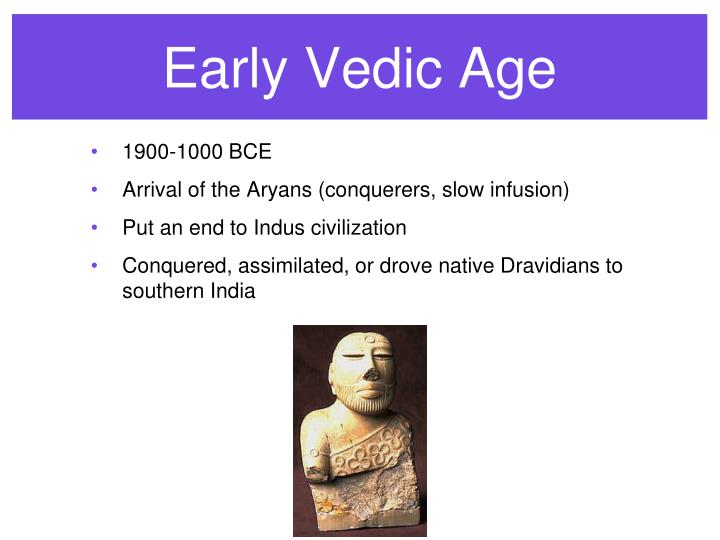 Early Vedic Age