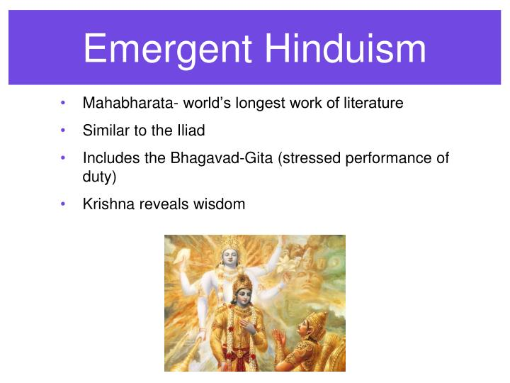 Emergent Hinduism