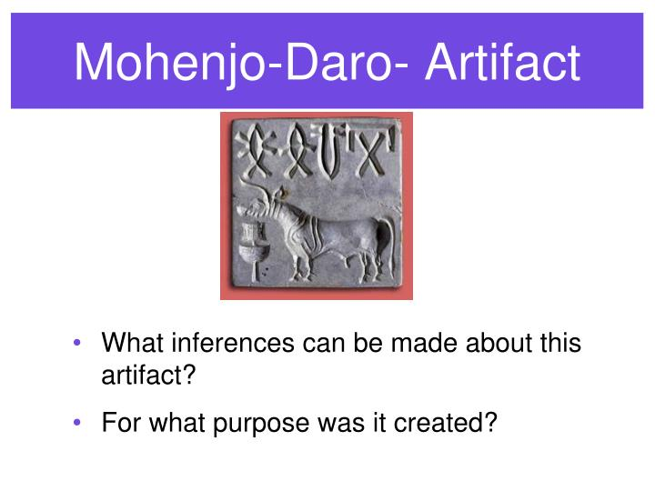 Mohenjo-Daro- Artifact