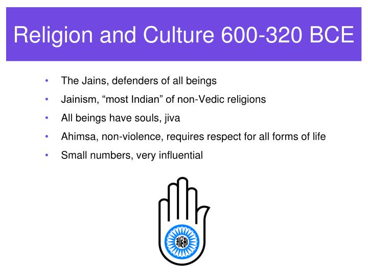 Religion and Culture 600-320 BCE