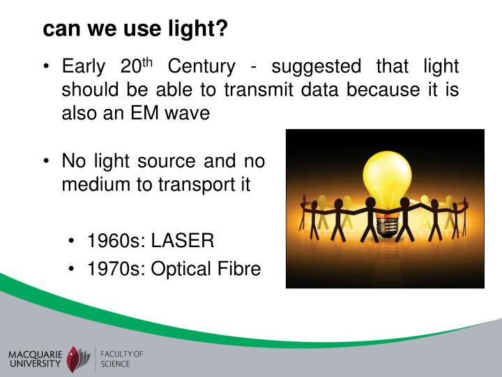 can we use light?