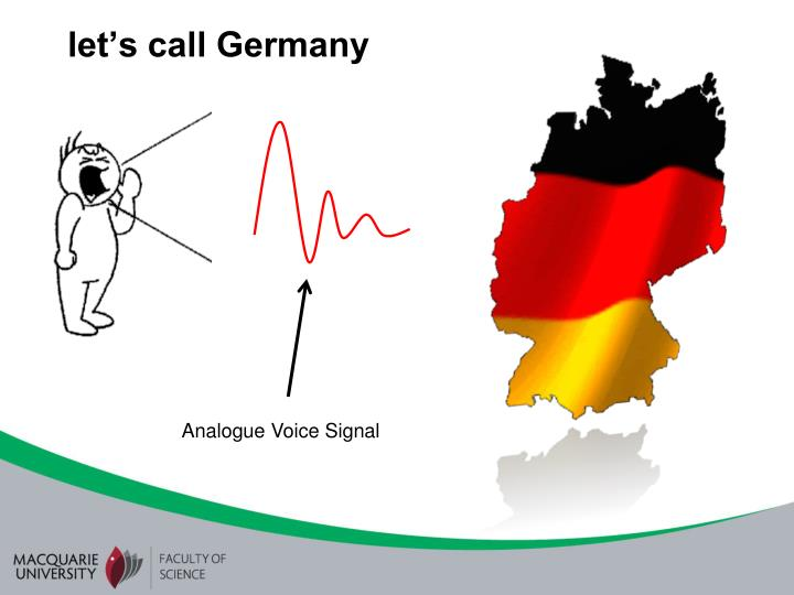 let's call Germany