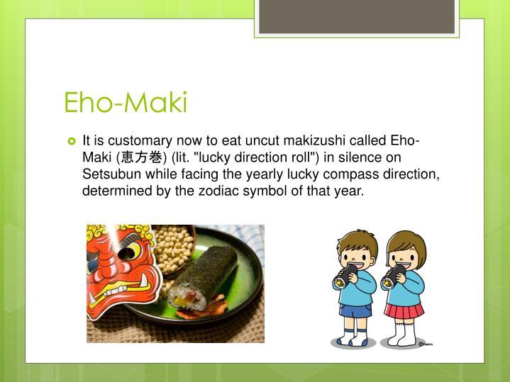 Eho-Maki