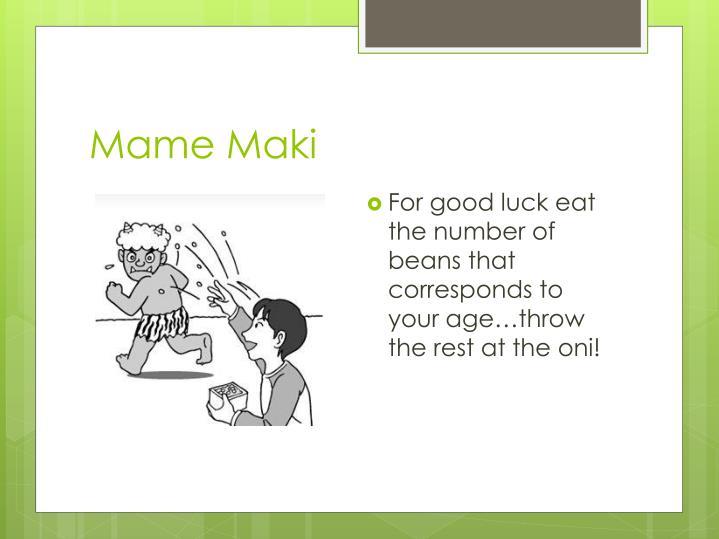 Mame Maki
