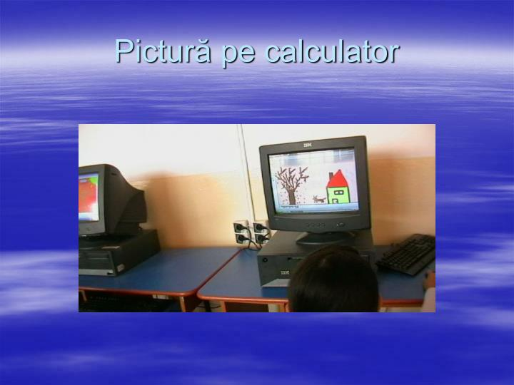 Pictură pe calculator
