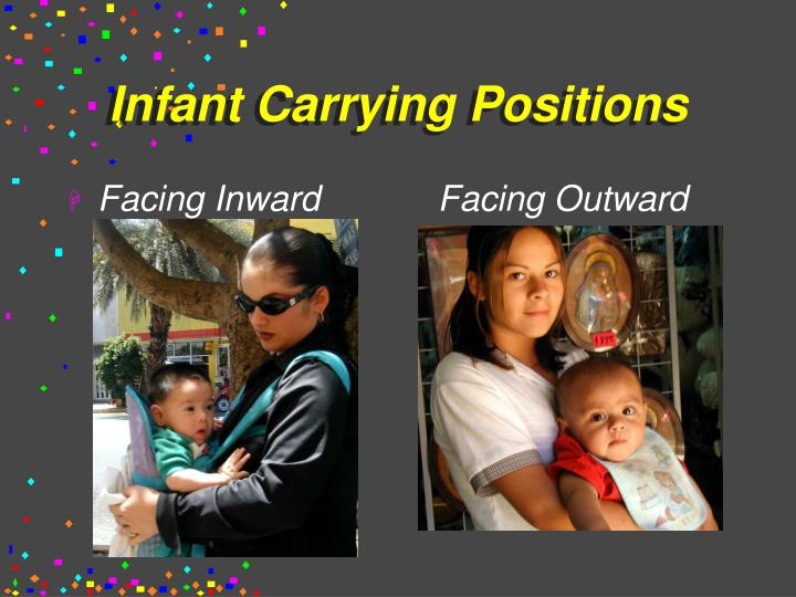 Infant Carrying Positions
