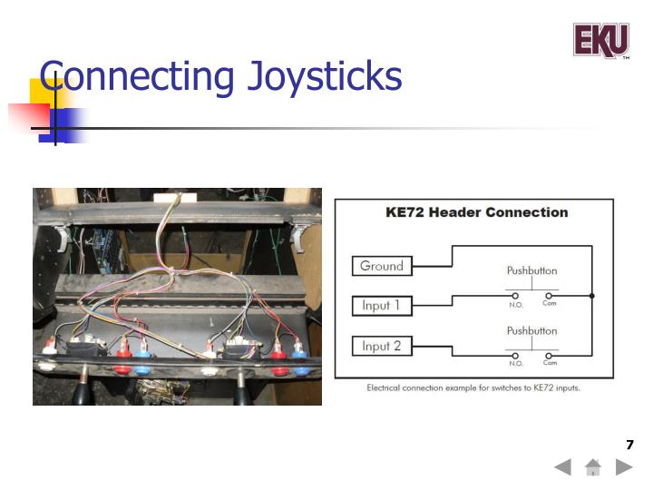 Connecting Joysticks