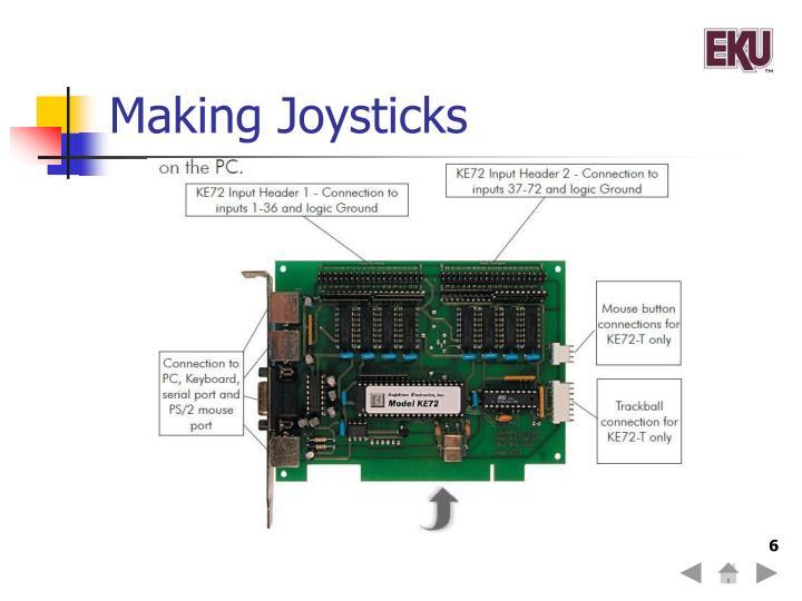 Making Joysticks
