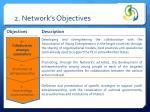 2 network s objectives