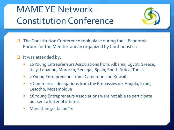 MAME YE Network –