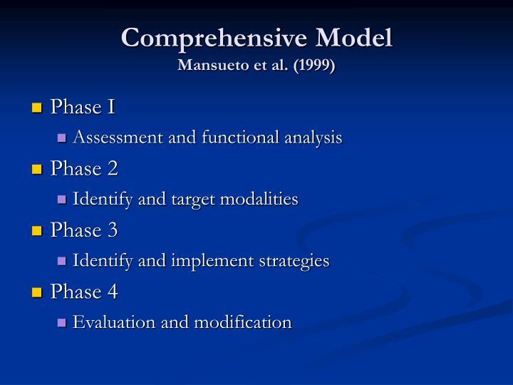Comprehensive Model