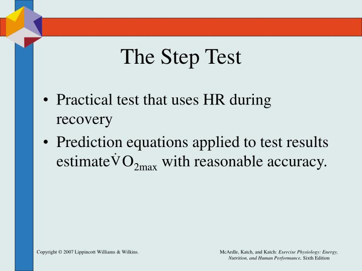 The Step Test