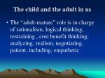 the child and the adult in us2