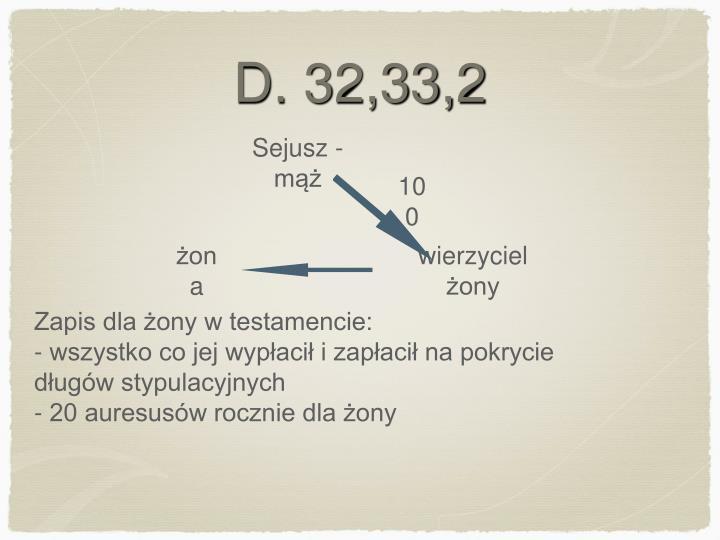 D. 32,33,2
