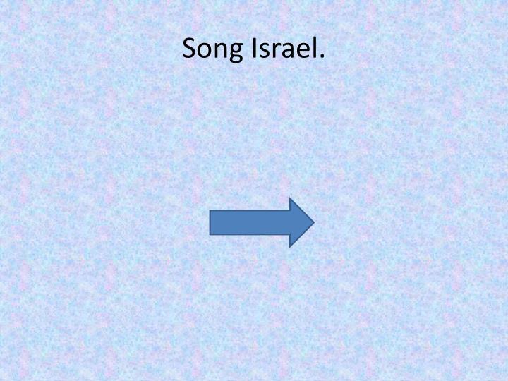 Song Israel.