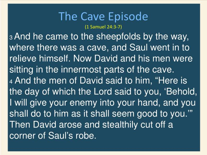The Cave Episode