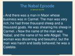 the nabal episode 1 samuel 25 2 4