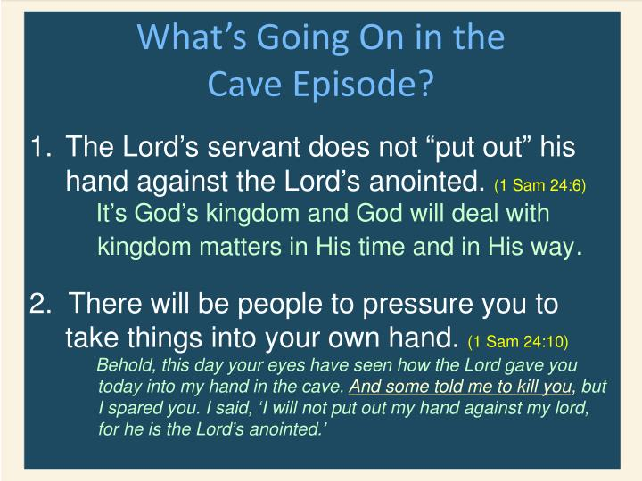 What's Going On in the Cave Episode?
