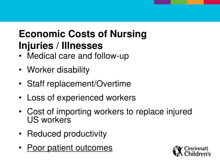 Economic Costs of Nursing