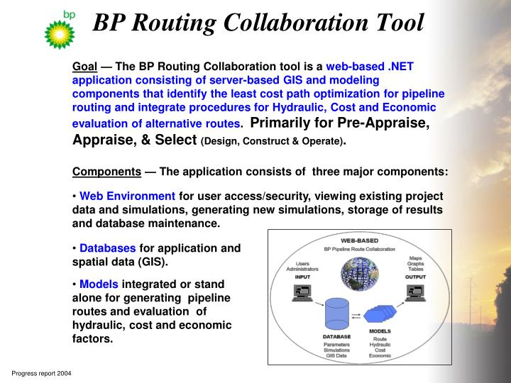 Bp routing collaboration tool
