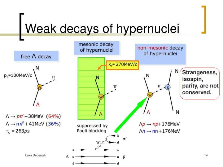 Weak decays of hypernuclei