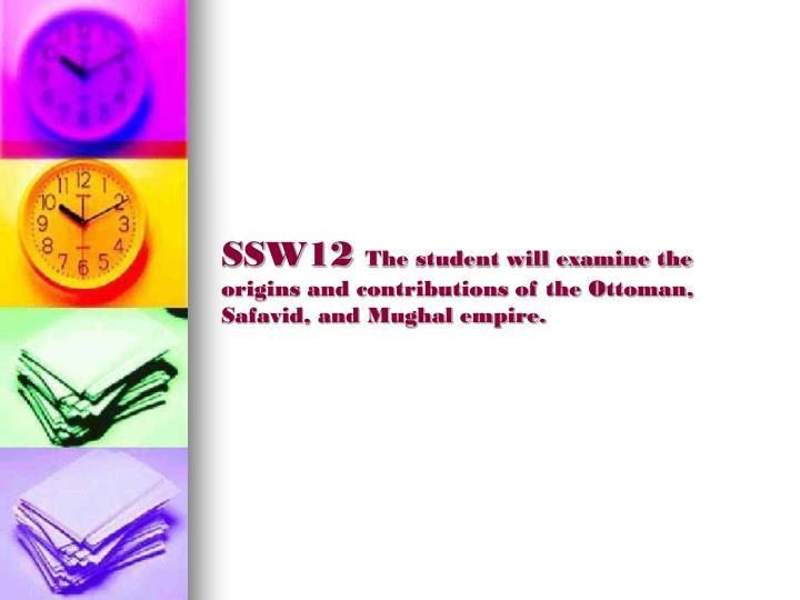 SSW12