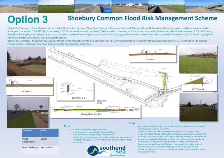 Shoebury Common Flood Risk Management Scheme