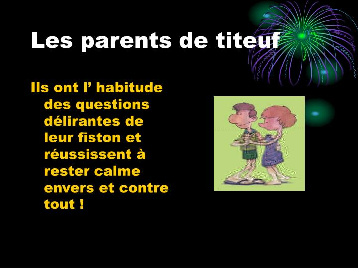 Les parents de titeuf