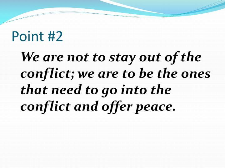 Point #2