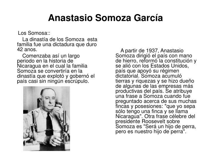 Los Somosa::