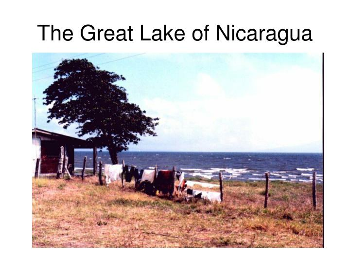 The Great Lake of Nicaragua