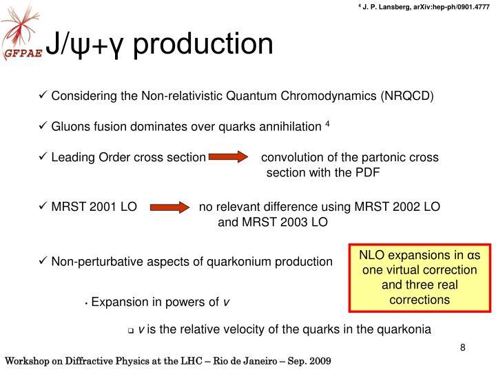 Considering the Non-relativistic Quantum Chromodynamics (NRQCD)