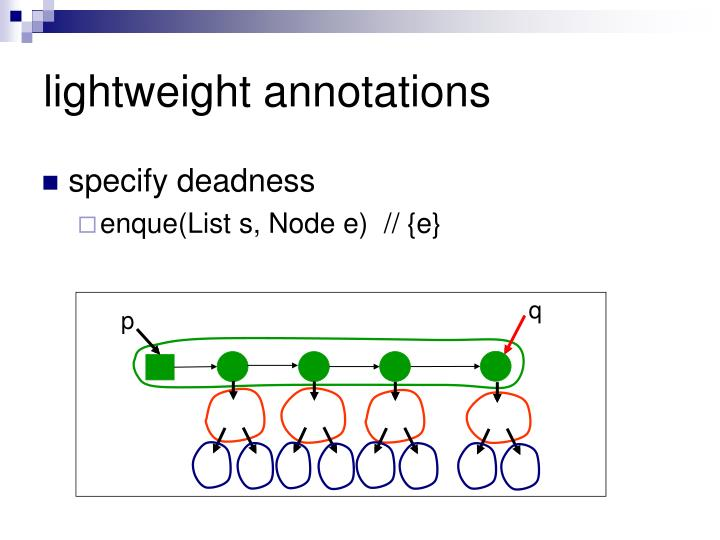 lightweight annotations