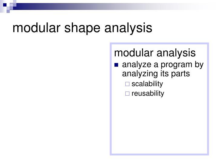 analyze a program by analyzing its parts