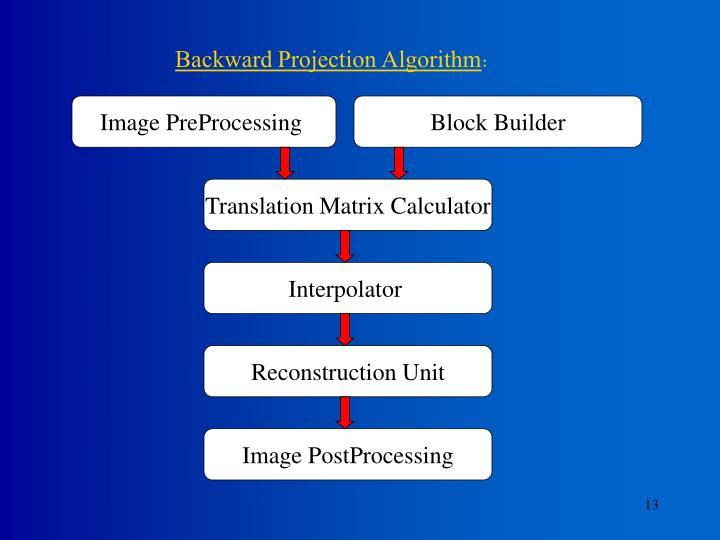 Image PreProcessing