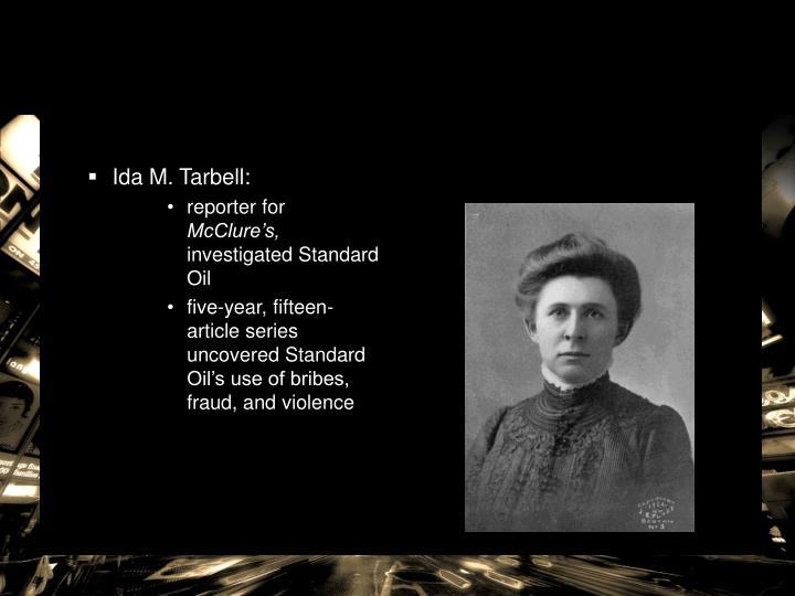 Ida M. Tarbell: