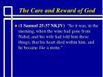 the care and reward of god6