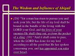 the wisdom and influence of abigail14