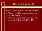 the wrath of david4