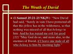 the wrath of david6