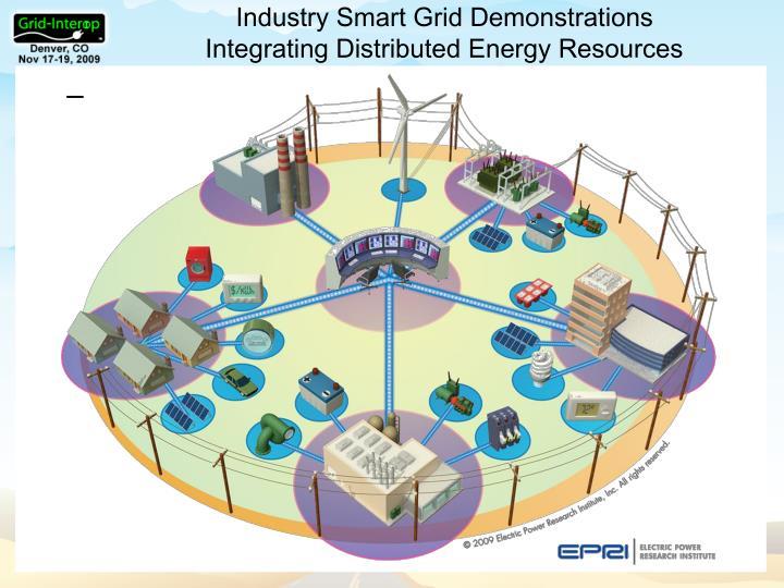 Industry Smart Grid Demonstrations