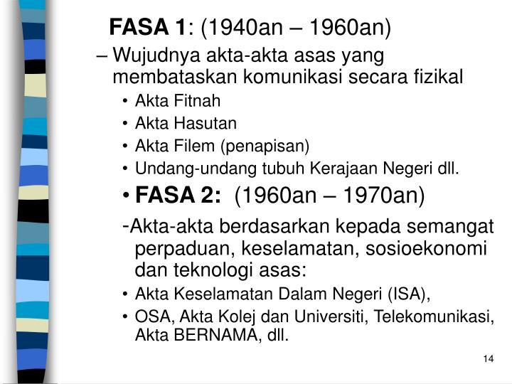 FASA 1