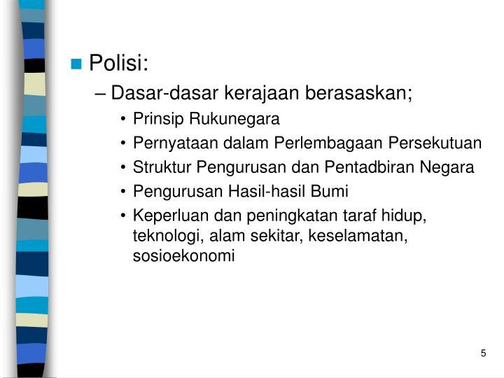 Polisi: