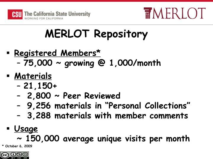 MERLOT Repository