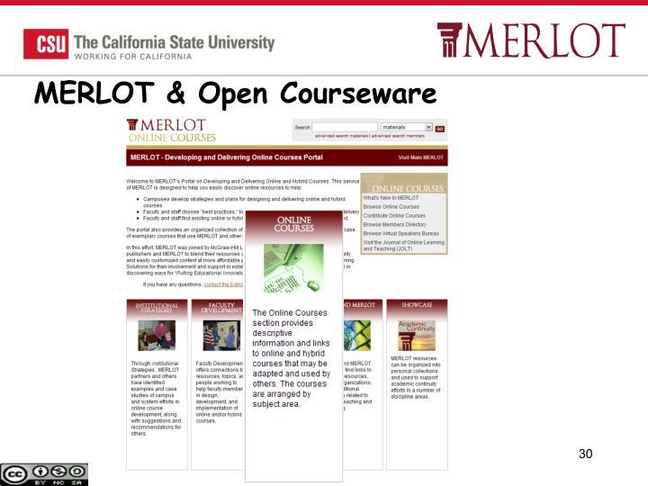 MERLOT & Open Courseware