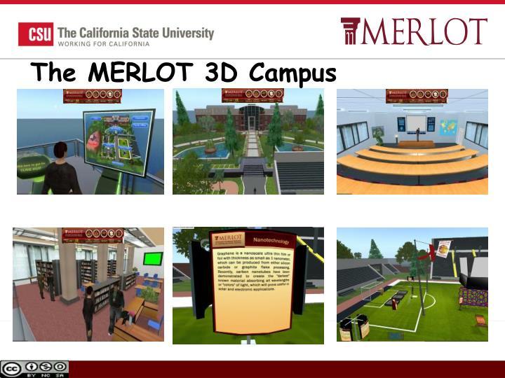 The MERLOT 3D Campus