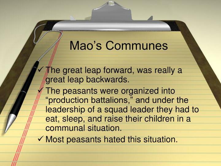 Mao's Communes