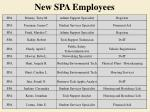 new spa employees1