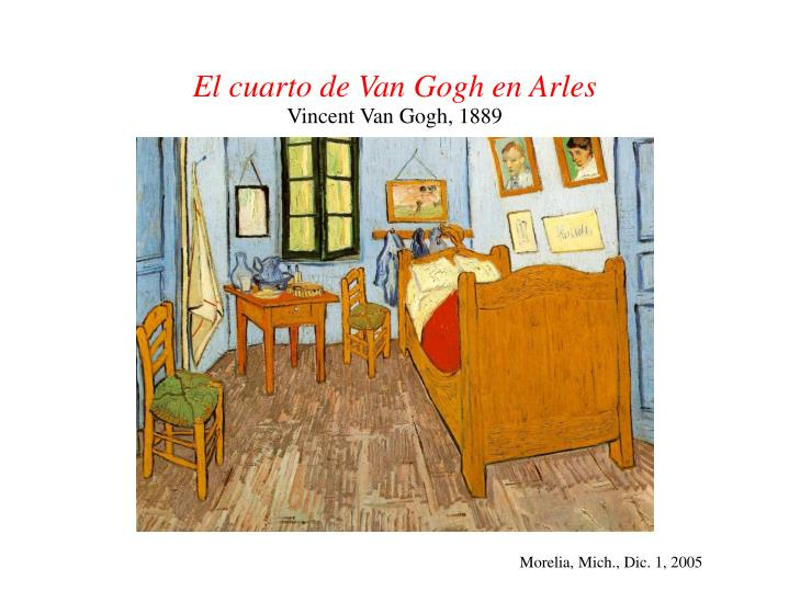 El cuarto de Van Gogh en Arles