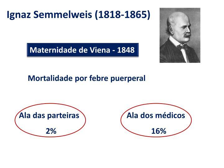 Maternidade de Viena - 1848